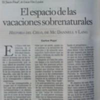 """""""El espacio de las vacaciones sobrenaturales"""""""