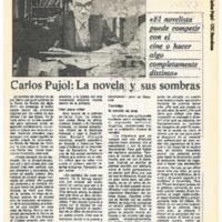 """""""Carlos Pujol: La novela y sus sombras"""""""